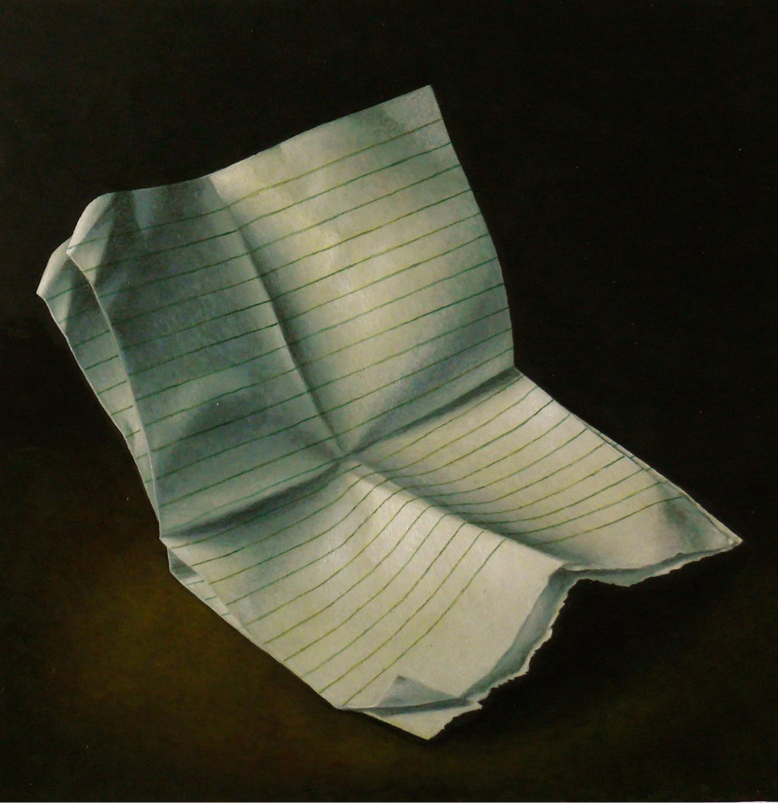 post clare INTIMATE LETTERS Oil on Panel 2015 Private Collection